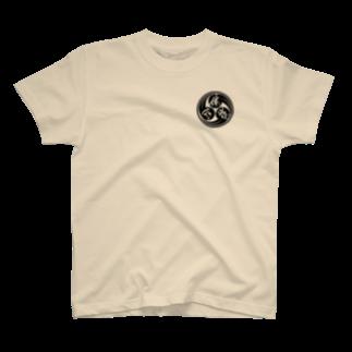 踊る便所太郎の便所太郎流「心技体」ロゴ Tシャツ
