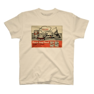 ドッグフード広告 T-shirts