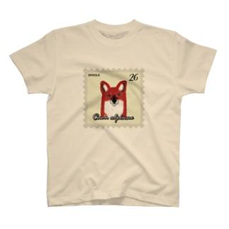 ぎんぺーのしっぽのドールの切手(薄い色) T-shirts