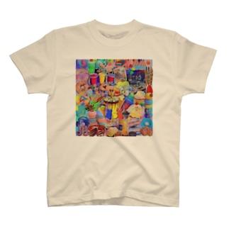 ミンミンのパラレルワールド T-shirts