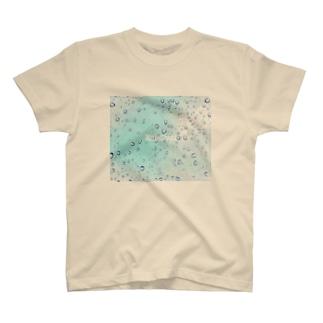 watasinoatorieのRaindropsカラー T-shirts