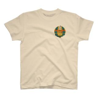 レトロ風ガル屋釣部 Tシャツ T-shirts