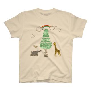 アニマルツリー T-shirts