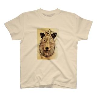 ニホンカモシカと宇宙 T-shirts