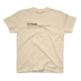 NOT FOUND T-shirts