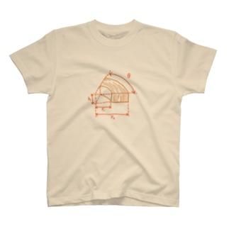 バームクーヘンの体積を求めよ T-shirts