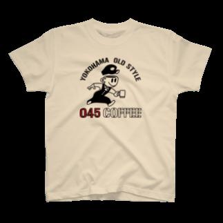 045COFFEE YOKOHAMAの045COFFEE A T-shirts