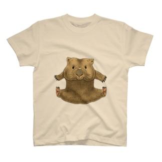 ウォンバット体重測定F T-shirts