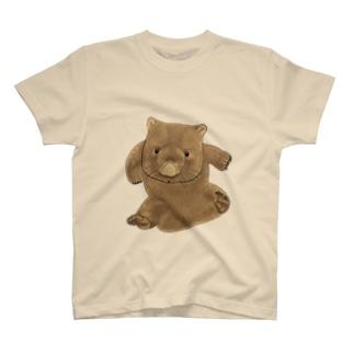 ウォンバット体重測定W T-shirts