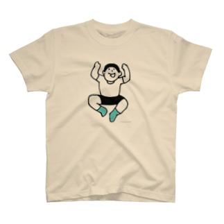 元気な人(やったー) T-shirts