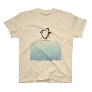 波に千鳥 T-shirts