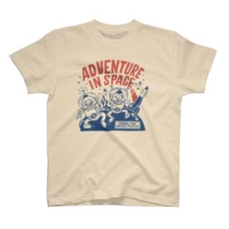 ビーンズマンのスペースアドベンチャー T-shirts