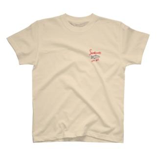 オイルサーディン  sardines in oil T-shirts