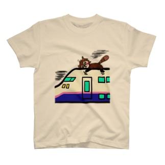 レッサーパンダのレッさん T-shirts