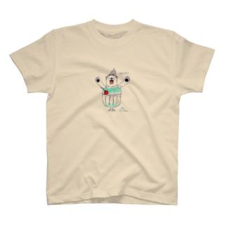 しろくまヘヴン(大) T-shirts