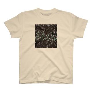 雪と翠/カヨサトーTX T-shirts