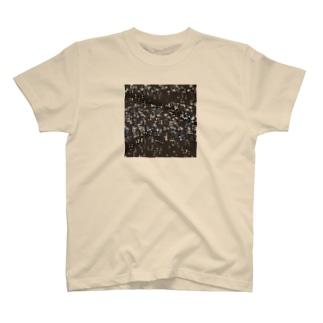 雪と蒼/カヨサトーTX T-shirts