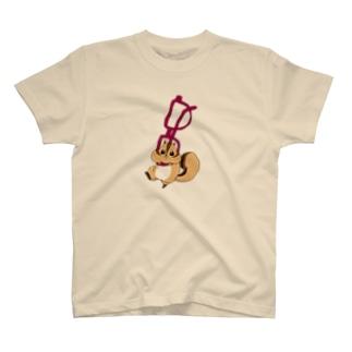 メガネにひっかかるしまむー T-shirts
