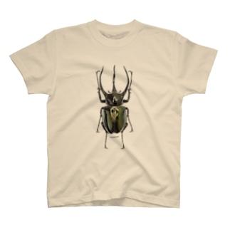 コーカサスオオカブトムシ T-shirts