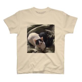 カップル猫 T-shirts