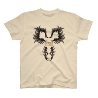 スタイリッシュ胸毛(夏も安心ベージュ) T-shirts