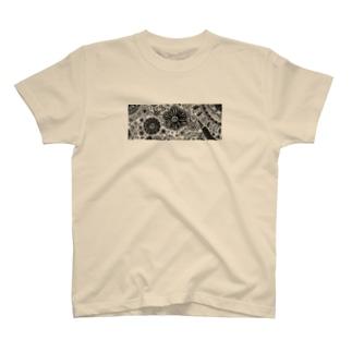 花柄デザイン(※病んでないよ) T-shirts