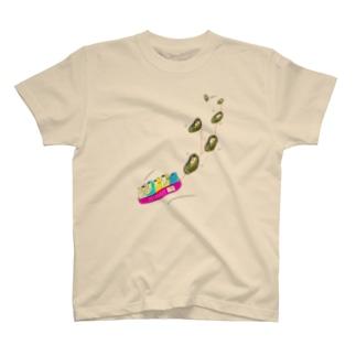 顔がヒー(本物のヒーのボブスレー) T-shirts