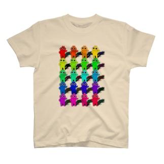 ねこスペクトラム T-shirts
