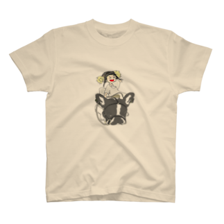 ★いろえんぴつ★の犬と少女 T-shirts