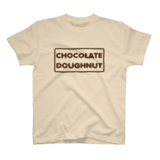CHOCOLATE DOUGHNUT T-shirts