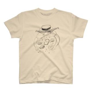 パン好き少女は夢の中 T-shirts