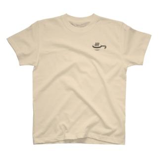 シェラカップ温泉Tシャツ T-shirts