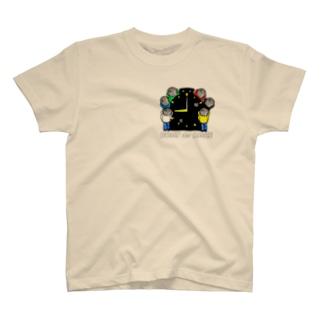 #ボートレーサーくん 大集合 T-shirts