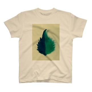 半分な紫蘇2 T-shirts