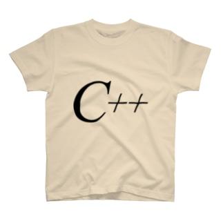 「C++」Tシャツ T-shirts