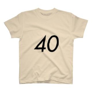 40歳のふしめ (Black) T-shirts