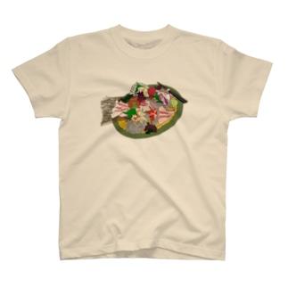 佐々木さんのお刺身 T-shirts