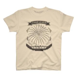 足立の花火(グレーV)足立区大好き! T-shirts