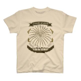 足立の花火(セピアV)足立区大好き! T-shirts