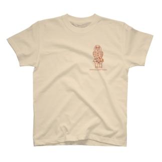 武装男子立像 T-shirts