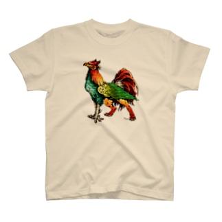 カモフラガルグリフ T-shirts