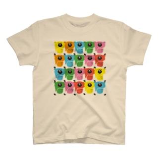 くまとビール「BEEAR」アートスタイル T-shirts