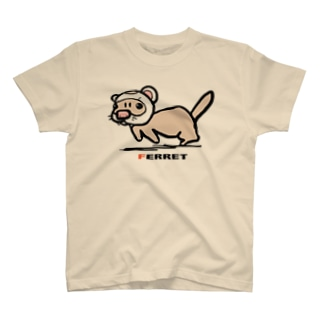 超フェレット T-shirts