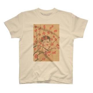 紅梅 T-shirts