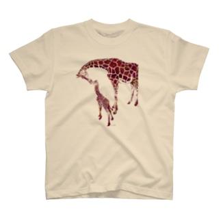 giraffe  love T-shirts