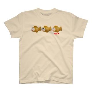 連続たいプクやき T-shirts