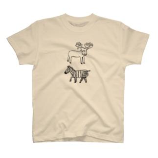 シマジカくん T-shirts