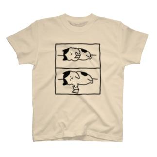 2コマ漫画 T-shirts