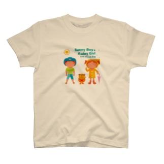 Sunny Boy & Rainy Girl! T-shirts