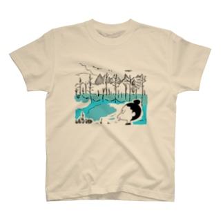 青池イラスト T-shirts